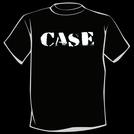 CASE - Logo T-Shirt (White on Black)