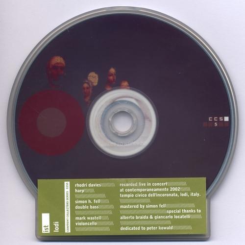 IST (Rhodri Davies, Simon H. Fell, Mark Wastell) - Lodi