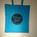 Country Roadshow blue tote bag