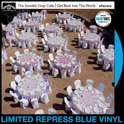 The Sensible Gray Cells - Get Back Into The World - BLUE VINYL LP