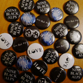 Nine Black Alps Badges