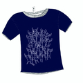 Girl's Dark Blue Psapp Cats Tee