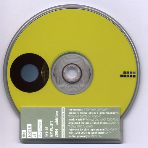 Tim Barnes & Mark Wastell - Live At Amplify 2004: Addition