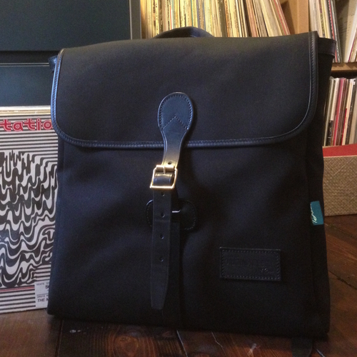 The Record Rucksack - BLACK