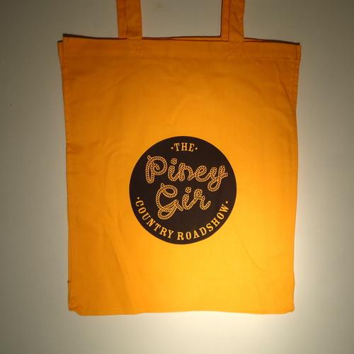 Piney Gir - Country Roadshow orange tote bag