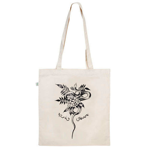 AZRAQ SÀHARA - Limited Snake Tote Bag