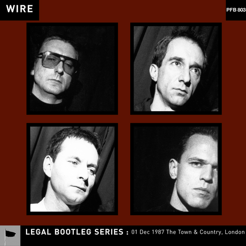 Wire - 01 Dec 1987 The Town & Country, London