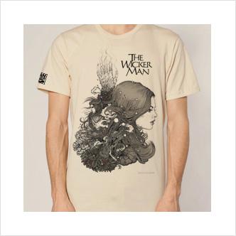 The Wicker Man 40th Anniversary Edition T-Shirt - Cream