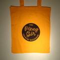 Country Roadshow orange tote bag