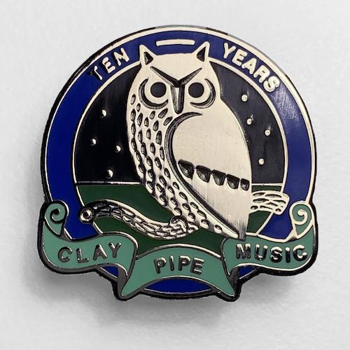 CLAY PIPE BADGE No9