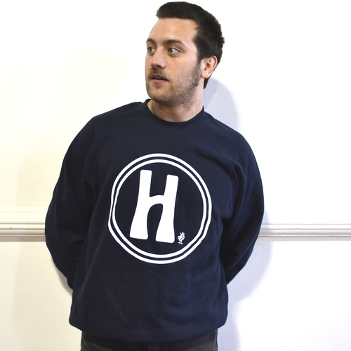 Classic Big H Sweatshirt in Navy