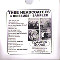 Thee Headcoatees - Reissue Sample CDR