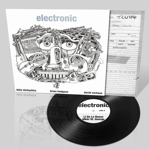 BBC Radiophonic Workshop, Brian Hodgson, Delia Derbyshire - Electronic - Derbyshire/Hodgson/Vorhaus