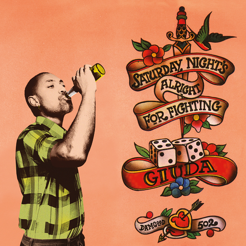 Giuda - Saturday Night's Alright For Fighting  -  Black vinyl