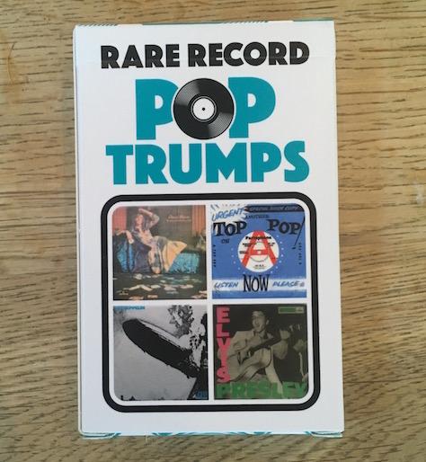 RARE RECORD TOP TRUMPS