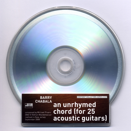Barry Chabala - An Unrhymed Chord (for 25 acoustic guitars)