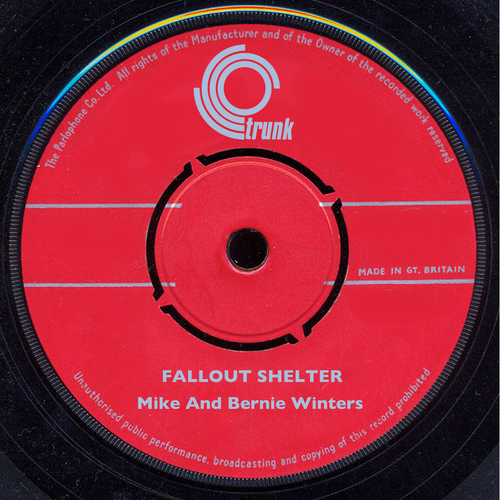 Mike And Bernie Winters - Fallout Shelter