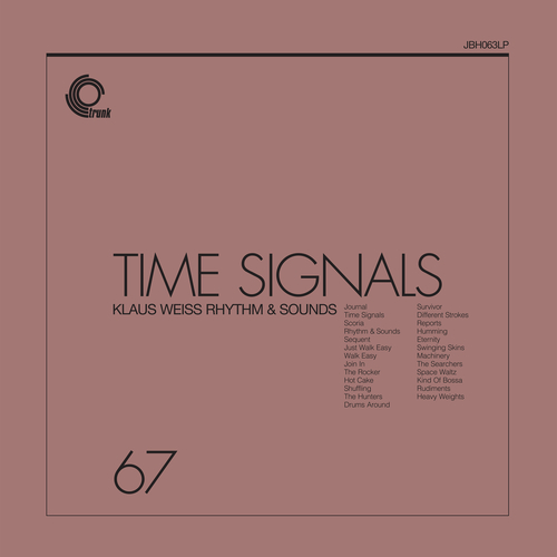 Klaus Weiss Rhythm And Sound - Time Signals