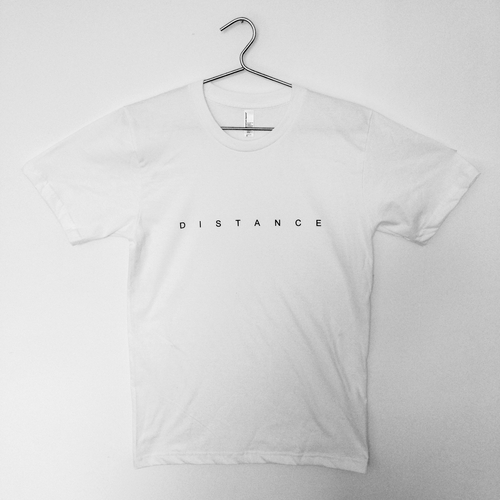 Dan Michaelson and The Coastguards - Screen Printed Distance Tshirt and Download