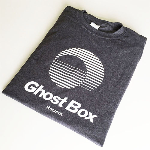 Ghost Box T Shirt (Grey & White)