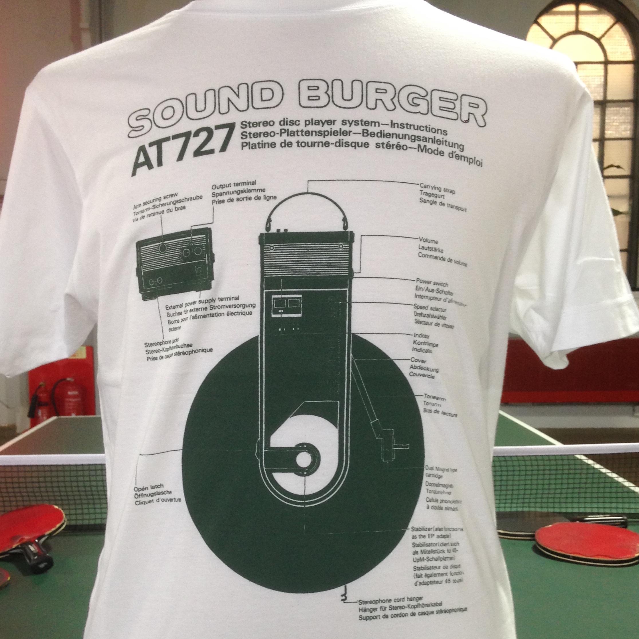 Sound Burger Tee Shirt