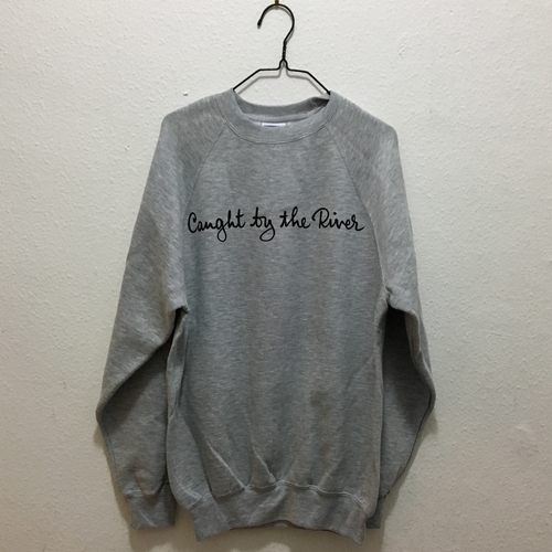 Caught by the River Sweatshirt Grey