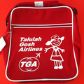 Talulah Gosh Flight Bag RED