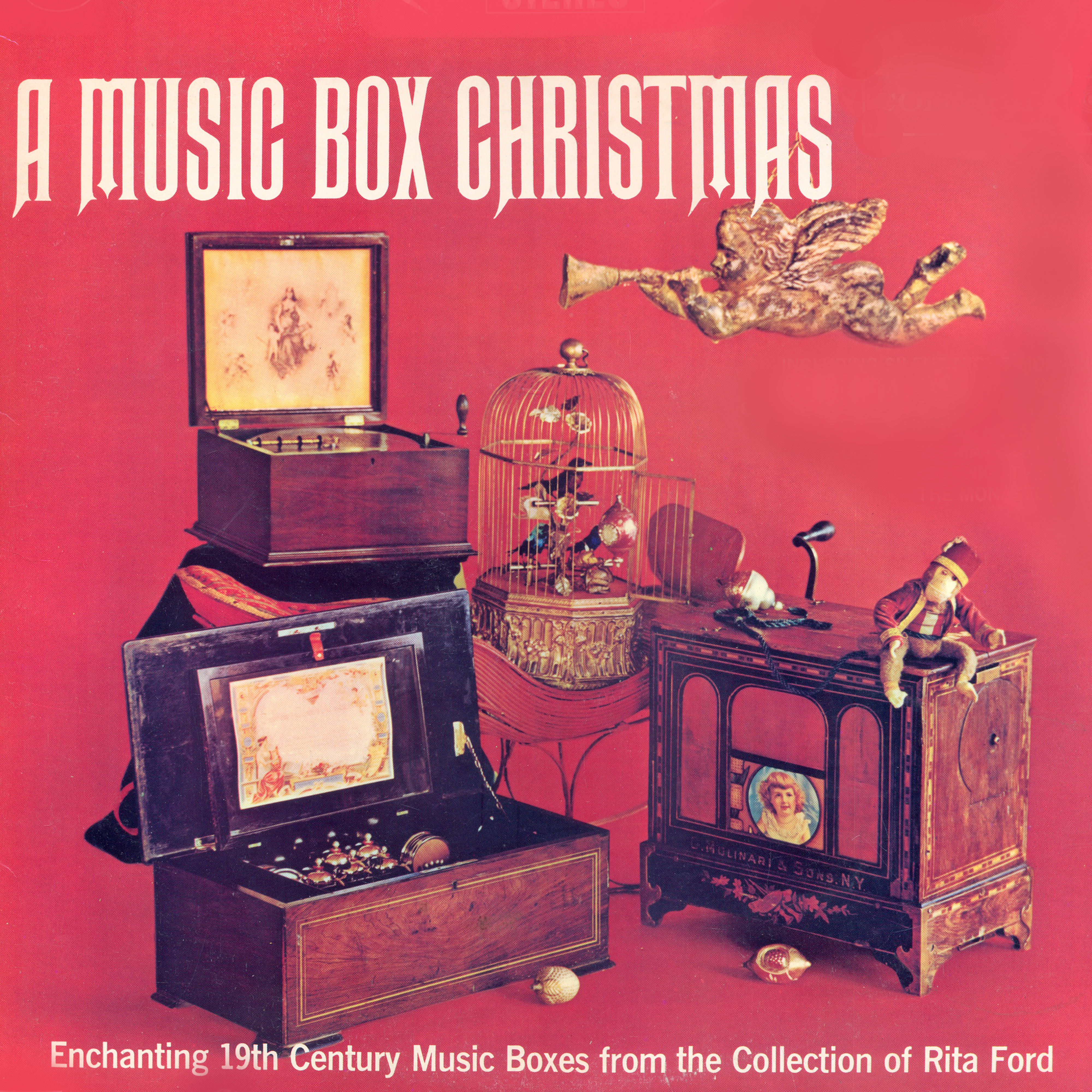 A Music Box Christmas. Enchanting 19th Century Music Boxes From The Collection Of Rita Ford