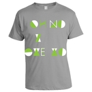 GREY OH NO I LOVE YOU T-SHIRT