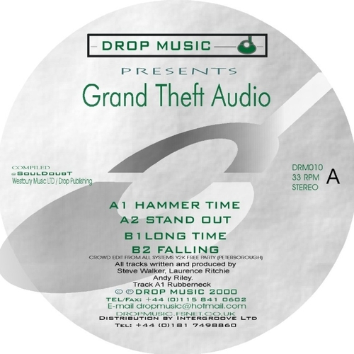 Various - Grand Theft Audio