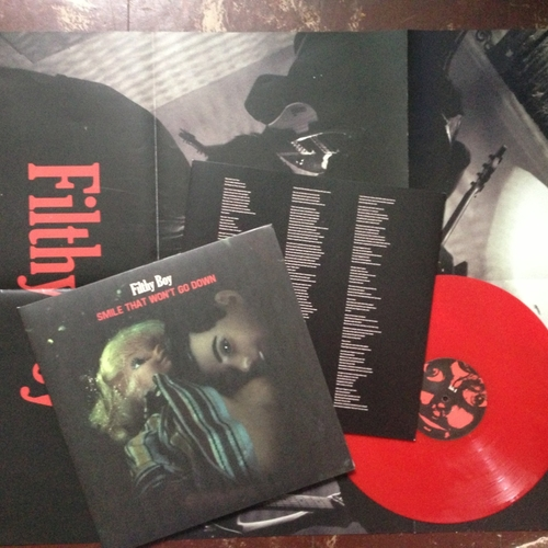 Filthy Boy - Smile That Won't Go Down (Red Vinyl LP)