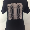 Super cool Black IM library logo tee
