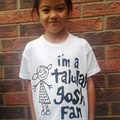 I'm A Talulah Gosh Fan T-shirt (CHILDS WHITE)