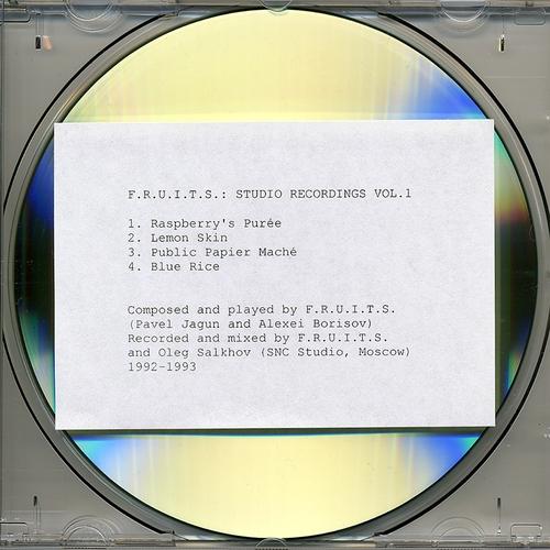 F.R.U.I.T.S. - Studio Recordings Vol. 1