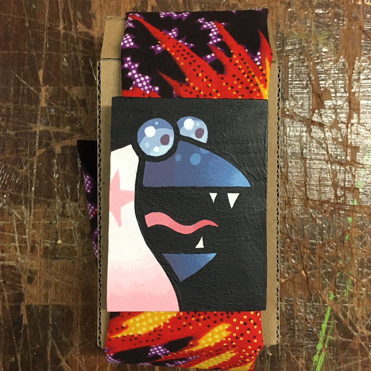 Left Guy small painting