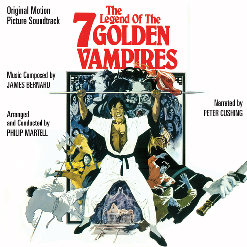 James Bernard - The Legend of the 7 Golden Vampires (Original Soundtrack Recording)