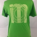 Super cool Green IM library logo tee