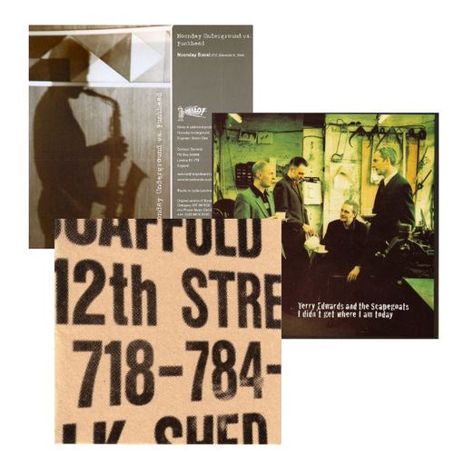 """BUtterfield 8, Terry Edwards, The Scapegoats - I Didn't Get Where I Am Today LP, 681 7"""" and BUtterfield 8 10"""" Album"""