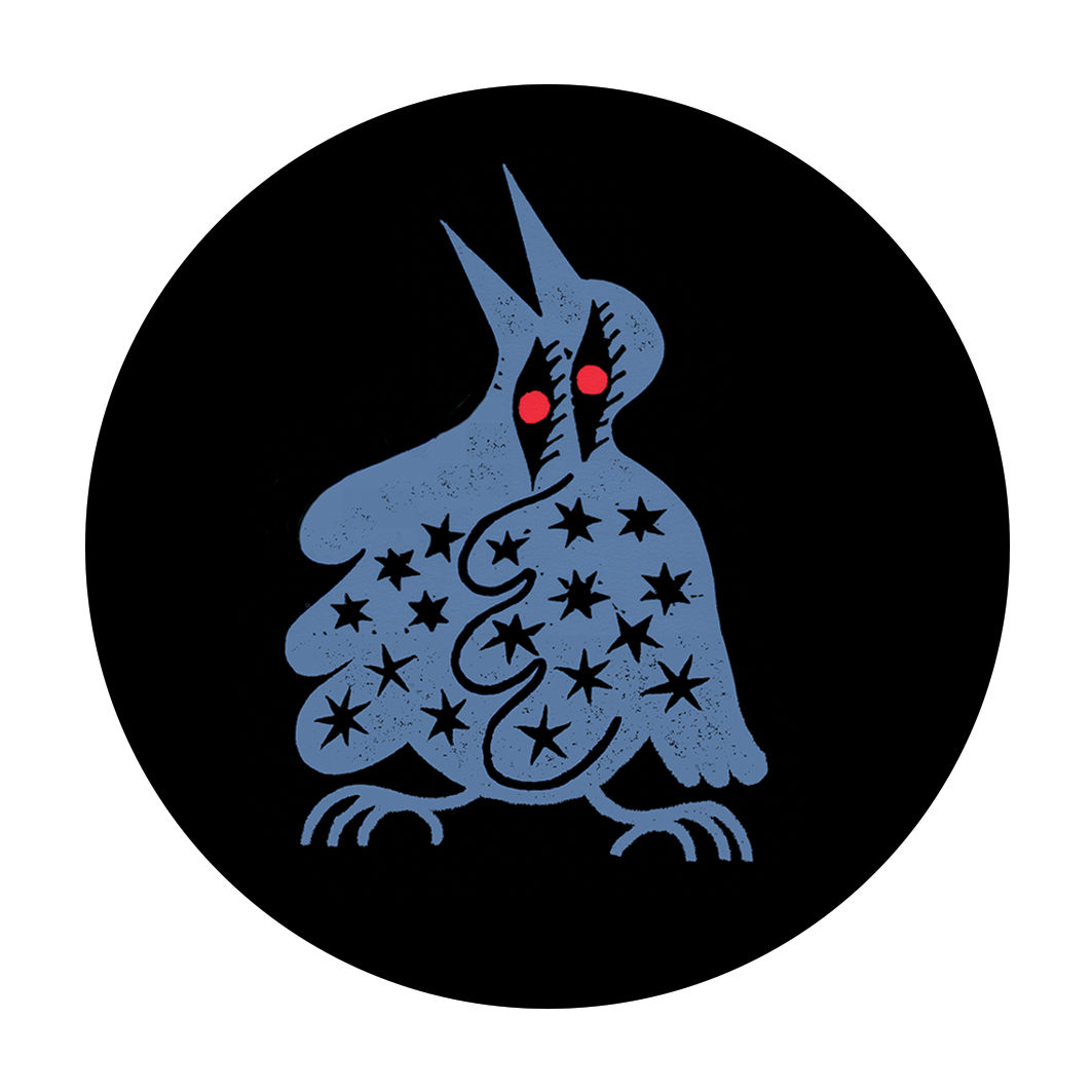 Sophy Hollington Heavenly Bird Badge Large