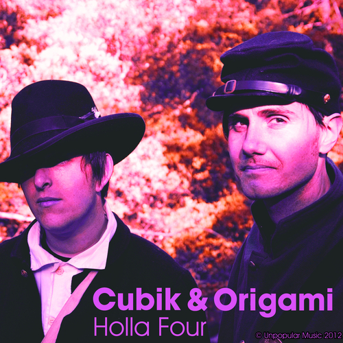 Cubik and Origami - Holla Four
