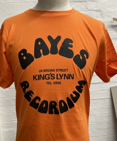 Bayes Recordium Shop Tee