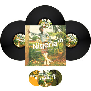 Various Artists - Nigeria 70 - The Definitive LP Edition incl. 3 CDs