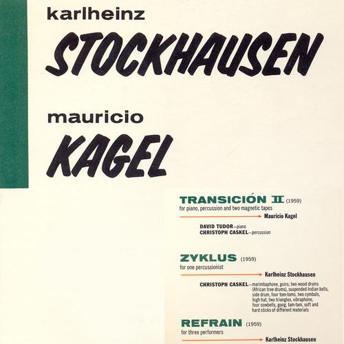 David Tudor, Christoph Caskel, Aloys Kontarsky, Benrhard Kontarsky - Stockhausen / Kagel