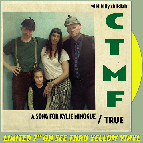 "CTMF - A Song For Kylie Minogue 7"" (Transparent Yellow Vinyl)"