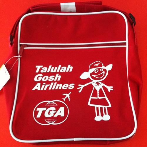 Talulah Gosh - Talulah Gosh Flight Bag RED