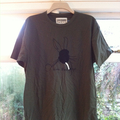 Nine Black Alps Green Rabbit T-shirt