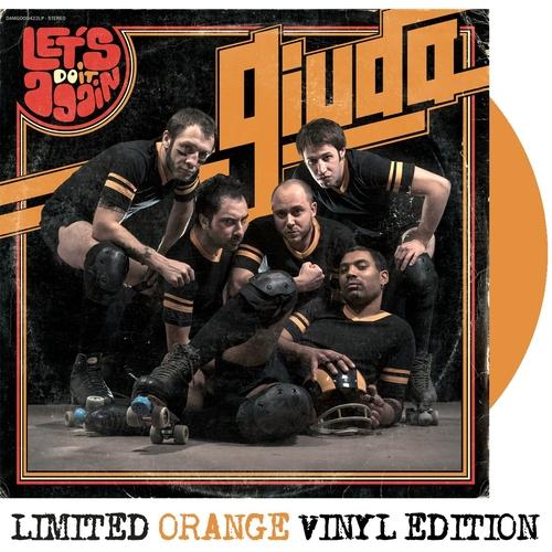 Giuda - Giuda - Let's Do It Again ORANGE VINYL LP