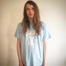 Heavenly Jukebox baby blue T-shirt