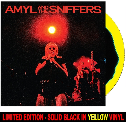 Amyl and The Sniffers - Big Attraction & Giddy Up *BLACK/YELLOW VINYL*