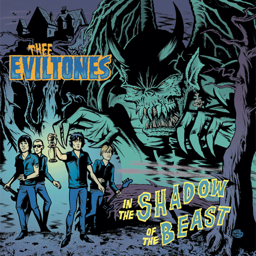 Thee Eviltones - THEE EVILTONES - In the Shadow of the Beast - LP + GAME OUT NOW!